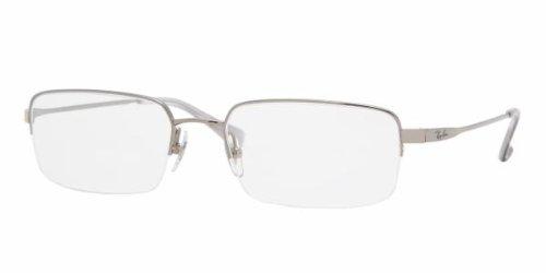 Ray Ban Optical Men\'s Rx8632 Gunmetal Frame Titanium Eyeglasses ...