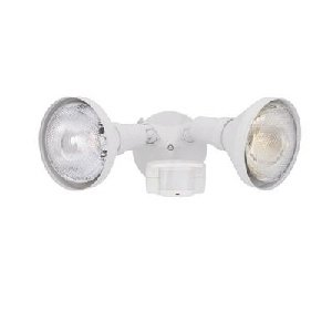 218C-06 180 Motion Detectors Collection 2-Light Exterior Wall Mount, White Finish (Designers Fountain Motion Detector)