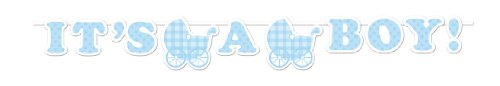 Creative-Converting-Baby-Shower-Boy-Gingham-Ribbon-Banner