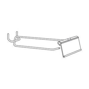 Flip Scan Hooks 11 Inch (L) Bag of 25 by Retail Resource