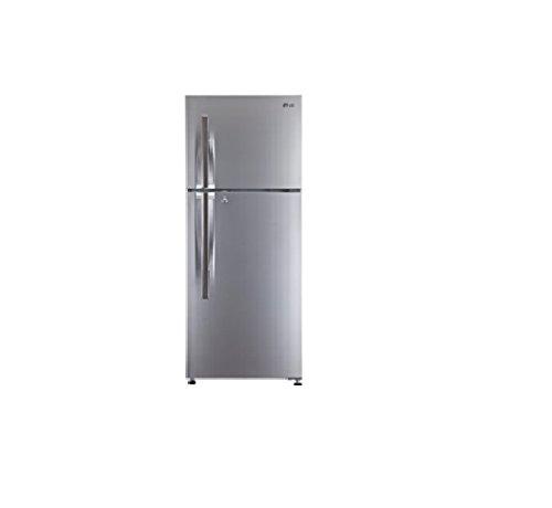 LG 310 L 4 Star Frost Free Double Door Refrigerator(GL-M322RPZL, Silver,  Inverter Compressor)