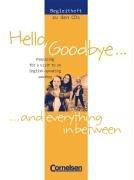 English G 2000 - Zu allen Ausgaben: Band 5/6: 9./10. Schuljahr - Hello, Goodbye and everything in between: Begleitheft mit Lösungen