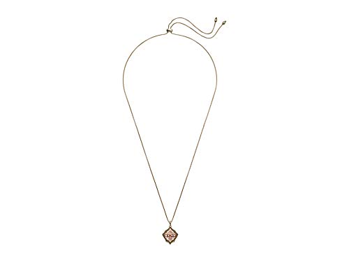 Kendra Scott Kacey Long Pendant Necklace in Filigree, 14k Gold-Plated