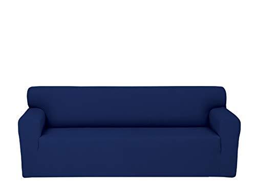 Chiara Rose Stretch 1 Piece Sofa Slipcover 3 Seat Couch Cove