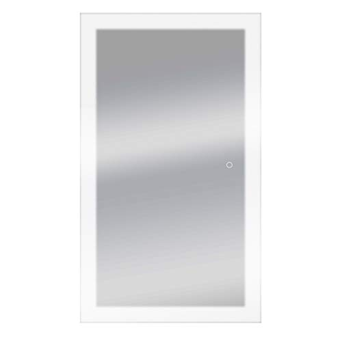 Dyconn Faucet Royal LED Wall Mounted Backlit Vanity Bathroom LED Mirror with - Bathroom Led Dyconn Royal Mirrors