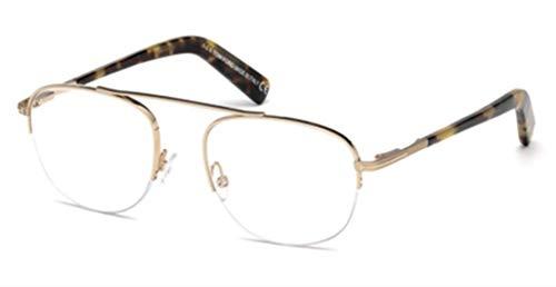 TOM FORD FT5450-28B Metal Eyeglass Frames Gold/Tortoise 49MM