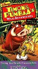 Timon and Pumbaa:Hangin' With Baby [VHS]