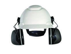3M Peltor Black Model X5P3E/37279(AAD) Cap Mount Hearing Conservation Earmuffs (10 Packs) by 3M