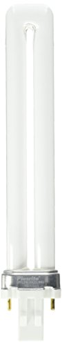 Plusrite 4011 04011 - PL13W/1U/2P/841 Single Tube 2 Pin Base Compact Fluorescent Light Bulb,
