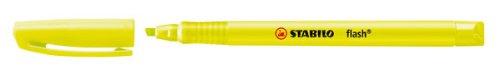 STABILO flash Evidenziatore colore Giallo - Confezione da 10 555/24