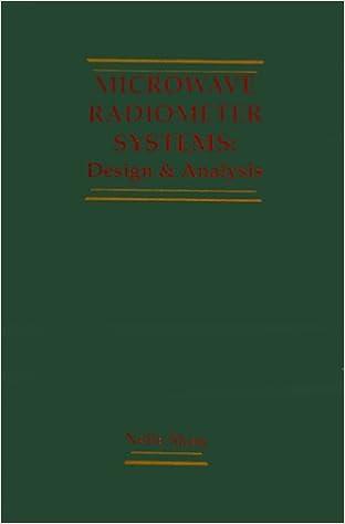 Microwave Radiometer Systems Design And Analysis Artech House Remote Sensing Library Skou Niels Skou Niels 9780890063682 Amazon Com Books