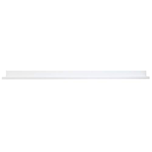 Lewis Hyman 9602034E Floating Shelf with Invisible Brackets, 60 Inch, White