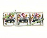 Cat on Bench Gift Boxed Lavendar Sachets (3 pcs) by Alice's Cottage (Image #1)