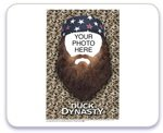 Duck Dynasty with Beard and Customer Photo Edible Image Cake Topper