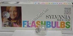 Sylvania Flashbulbs - Sylvania Press 25 Clear Flashbulbs (1) pack of 12 bulbs
