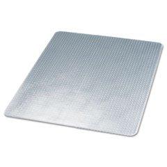 Lip Beveled Edge - Deflecto DEFCM14233 SuperMat Medium Pile Carpet Beveled Edge Chair Mat Lip: Not Included, Size: 45amp;quot; x 53amp;quot;