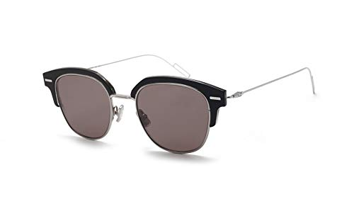 b063134f7c Christian Dior Homme DiorTensity Sunglasses Black Crystal w Grey Lens 48mm  7C52K