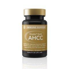 Kinoko Or 500 mg AHCC Qualité de vie Labs 30 Vcaps