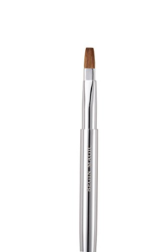 Travel Lip Brush - BEGINMAGIC Retractable Lip Brush Travel Portable Vanity Lipstick Gloss Makeup Brush Tool (Sliver)
