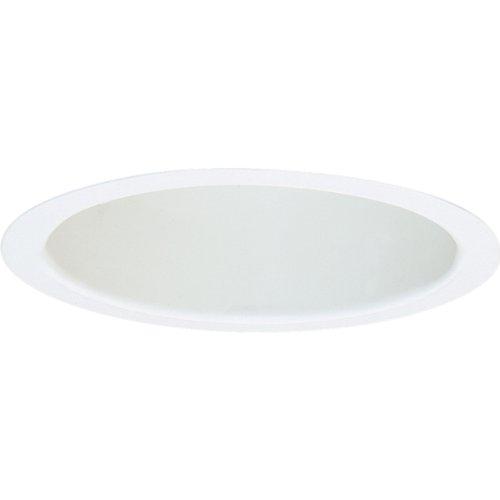 Progress Lighting P8131-28 Baffle Trim UL/CUL Listed For Damp Locations, White ()