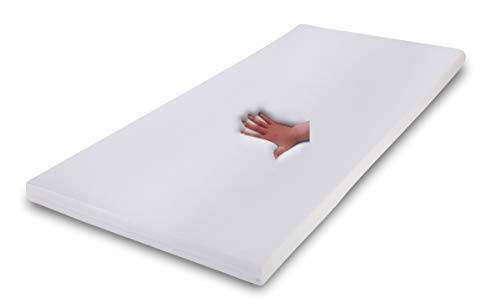 Supply24 Gel/Gelschaum Matratzen Topper Relax Höhe 7 cm, 80/90 / 100 x 190/200 cm Auflage für Matratze, Matratzenauflage Soft/weich inkl. Baumwollbezug Gelauflage günstig