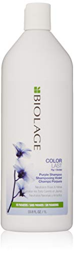 BIOLAGE ColorLast Purple Shampoo with Fig and Orchid for Neutralizing Brass & Yellow, 33.8 fl. oz.