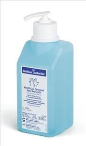 MEDLINE Industries MSC097063 Sterillium Comfort Gel Hand Sanitizer Bottle, 475 mL Size, Clear (Pack...