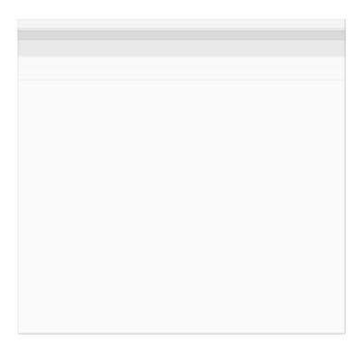 Sacchetto di plastica 25, 9 x 25, 6 cm richiudibile e cristallo trasparente (100 ST) [b1010s] 9x 25 6cm richiudibile e cristallo trasparente (100ST) [b1010s] BagsXL