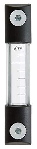 Aluminum Support Elesa 111051 Column Level Indicators with Transparent Front Protection Polycarbonate Protection 21.46 x 1.3 x 2.09 Transparent Technopolymer Tube
