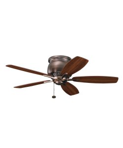 Kichler Lighting 300124OBB Richland II 42-Inch Ceiling Fan with Reversible Walnut/Cherry Blade, Oil Brushed Bronze, Appliances for Home