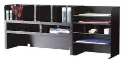 MMF INDUSTRIES 2KEJ8 Desktop Organizer, 12 Compartment, Blk ()