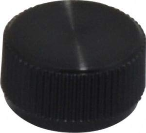 JumpingBolt Knurled Plastic Thumb Screw 5/16'' Head Diam, 11/64'' Head Height, Material May Have Surface Scratches