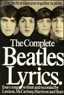 Complete Beatles Lyrics, , 0711901511