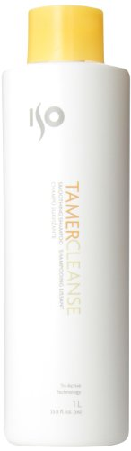 ISO Tamer Cleanse Smoothing Unisex Shampoo, 33.8 Ounce