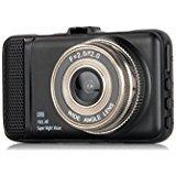 "Dash Cam,EVASA 150° Wide Angle Full HD 1080P with G-Sensor,Night Vision,WDR,Loop Recording,3.0"" LCD Dashboard Camera Recorder"