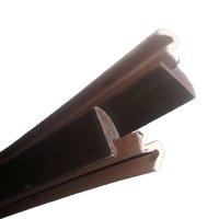 Q-Lon Door Kit with Vinyl Carrier Door Weatherstripping Brown by Q-Lon