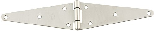 (Stanley Hardware S808-600 902 Heavy Strap Hinges - Stainless Steel in Stainless Steel, 8