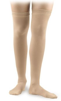 Activa Surgical Weight - Activa Surgical Weight Unisex Closed Toe Thigh Highs w/ Uni-Band Top 30-40 mmHg Large