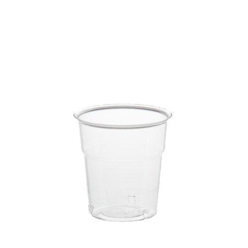 Polystyrol 1.000 Trinkbecher PS 0,1 l /Ø 6 cm /· 6,7 cm glasklar Kunststoffbecher aus PS