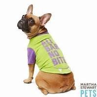 (Martha Stewart All Bark No Bite Dog Shirt Size)