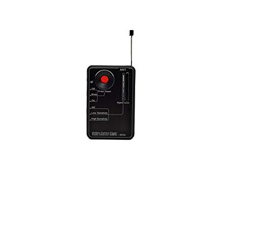 Spytec LawMate RD-10 RF Camera Detector - Radio Frequency and Laser Wireless Listening Device and Transmitter