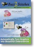 Buzz-2-Stitches Software - Automatically Turn Graphics Into Embroidery Designs by Buzz Tools