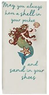 Kaydee Design mermaid kitchen flour sack towel Seas the Day