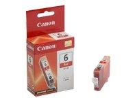 Canon BCI-6 R Cartucho de tinta original Rojo para Impresora de Inyeccion de tinta Pixma iP3000-iP4000-iP4000R-iP5000-iP8500