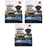 Thermacell M-48 Backpacker Mat-Only Refill, Set of Three 48