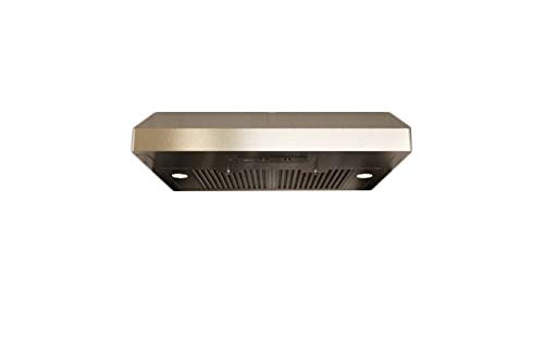 "Zephyr AK7100AS-BF 30"" Essentials Power Series Gust Under-Cabinet Range Hood with 400 CFM in Stainless Steel"