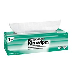 Kimwipes Delicate Task Kimtech Science Wipers (34133), White, 1-PLY,196 Sheets / Box ()