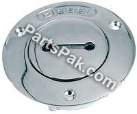 Perko 0528DP8CHR Unmarked Fill for 1-1/2 (Perko Deck Plate)