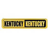 NEGATIVE Kentucky - Usa States - Street Sign [ Decorative Crossing Sign Wall Plaque ]