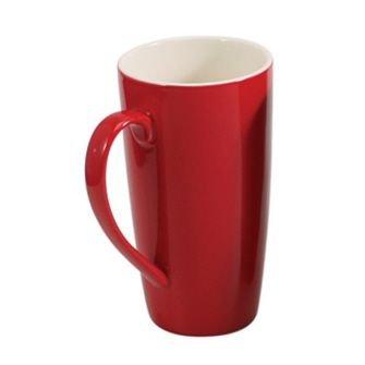 BIA Cordon Bleu 17 oz Latté Mug - Red - Set of 4